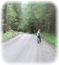 Biking in Mt Rainier National Park