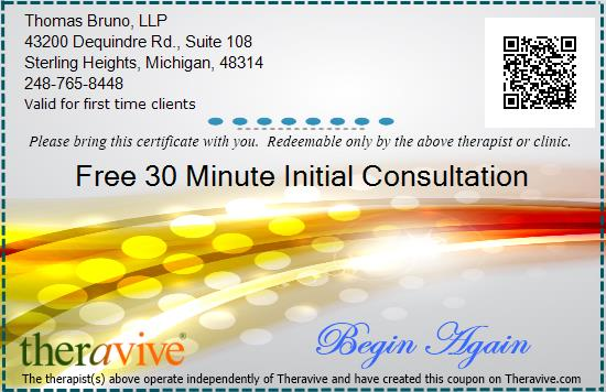 Counseling & Therapy with Values. Coupon Sterling Heights MI