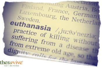 edited bigstock definition of word euthanasia 117341921
