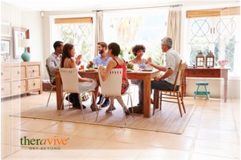 edited bigstock friends sitting at a table tal 95388371